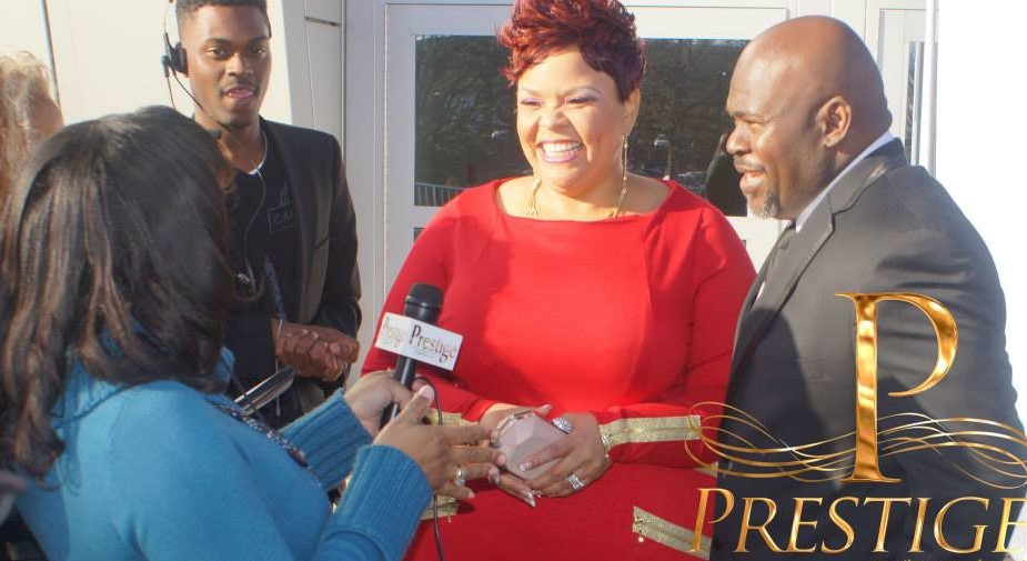 Prestige interviewing David & Tamela Mann