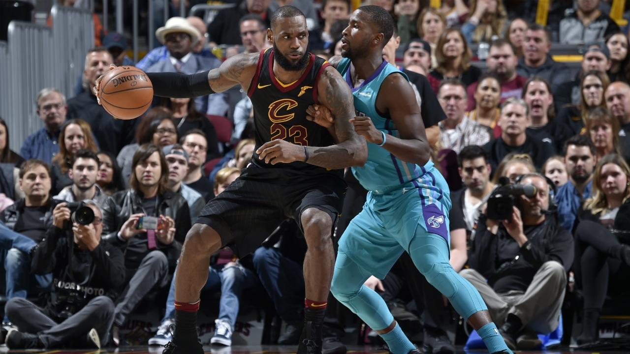 9b07e17cc146 The Cavaliers  sleeveless black jerseys already had LeBron James  stamp of  approval