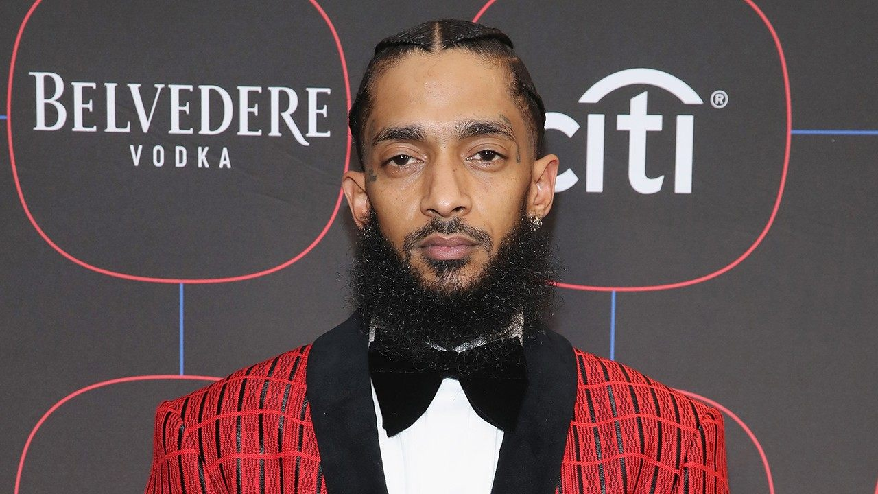 nipsey hussle family and friends pay their respects at