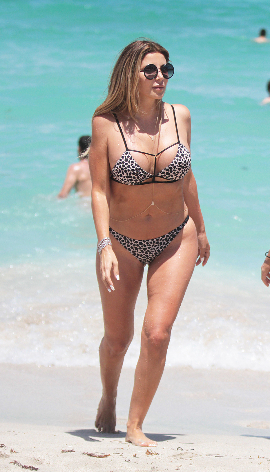 Larsa Pippen spotted on the beach in Miami